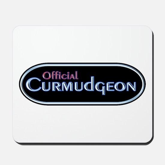 Official Curmudgeon Mousepad