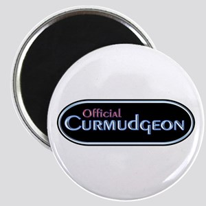 Official Curmudgeon Magnet