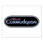 Official Curmudgeon Small Poster