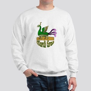 Mardi Gras Bird Sweatshirt