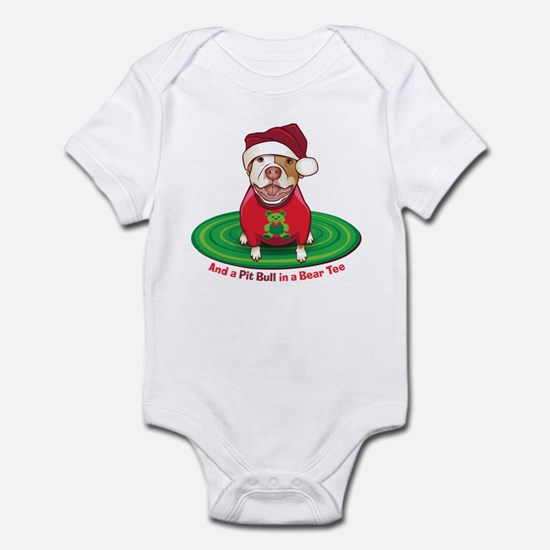And a Pit Bull in a Bear Tee Infant Bodysuit