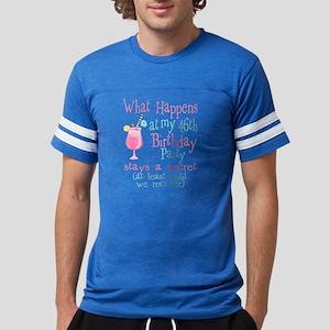 46th Birthday Party Mens Football Shirt