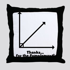 Thanks Throw Pillow