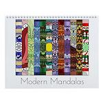 Modern Mandalas Wall Calendar