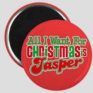 Christmas Jasper Magnet