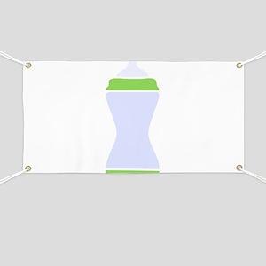 Baby Bottle Banner