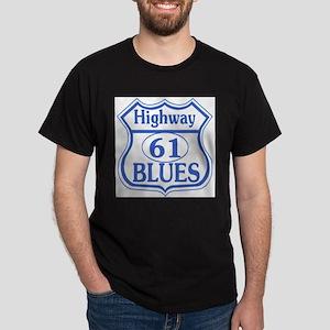 Highway 61 Blues Black T-Shirt