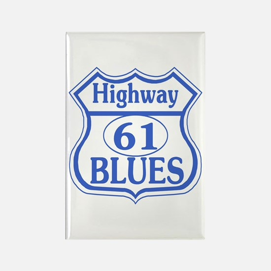 Highway 61 Blues Rectangle Magnet (10 pack)