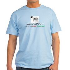 oddFrogg Akita Christmas T-Shirt