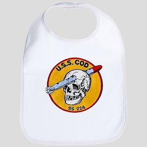 USS COD Bib
