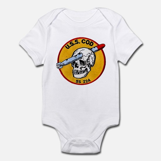 USS COD Infant Bodysuit
