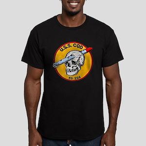 USS COD Men's Fitted T-Shirt (dark)