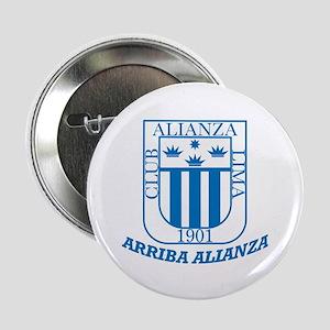 """Alianza Lima 2.25"""" Button"""