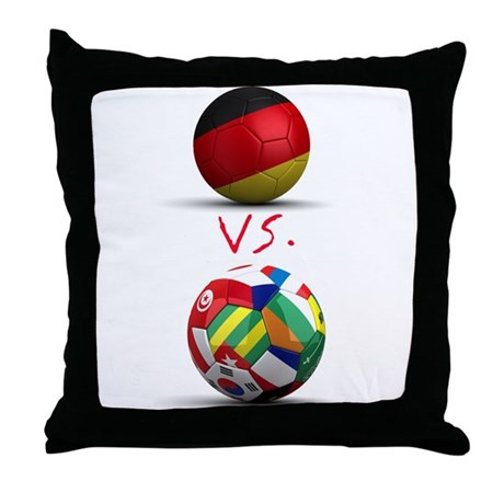 Germany Vs The World Throw Pillow