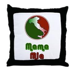 Mama Mia Throw Pillow