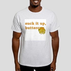Suck It Up Ash Grey T-Shirt
