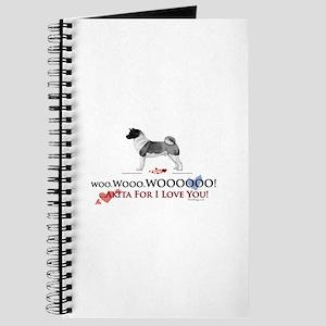 oddFrogg Akita Valentine Journal