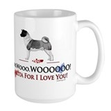 Akitas Large Mugs (15 oz)