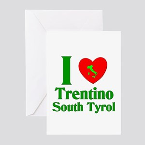 I Love Trentino South Tyrol Greeting Cards (Packag