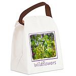Maine Impasto Wildflowers Canvas Lunch Bag