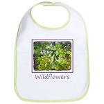Maine Impasto Wildflowers Cotton Baby Bib