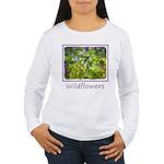 Maine Impasto Wildflow Women's Long Sleeve T-Shirt
