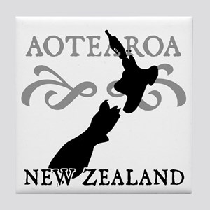 Aotearoa New Zealand Tile Coaster