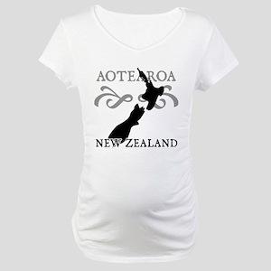 Aotearoa New Zealand Maternity T-Shirt