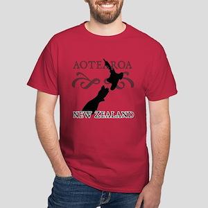 Aotearoa New Zealand Dark T-Shirt