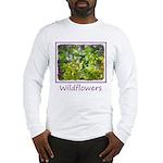 Maine Impasto Wildflowers Long Sleeve T-Shirt
