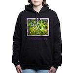 Maine Impasto Wildflower Women's Hooded Sweatshirt