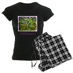 Maine Impasto Wildflowers Women's Dark Pajamas
