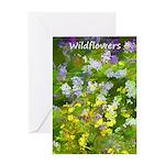 Maine Impasto Wildflowers Greeting Card