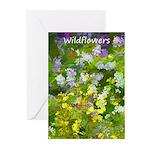 Maine Impasto Wildflower Greeting Cards (Pk of 10)