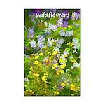 Maine Impasto Wildflowers Mini Poster Print