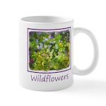 Maine Impasto Wildflowers 11 oz Ceramic Mug