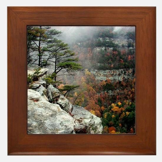 Cloudland Bliss Framed Tile