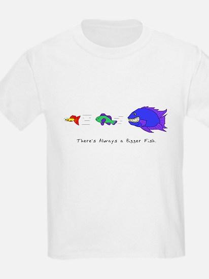 Always a Bigger Fish Kids T-Shirt