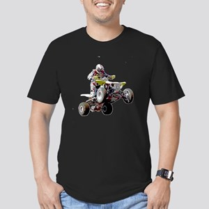 ATV Racing (color) Men's Fitted T-Shirt (dark)