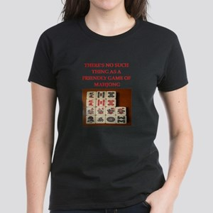 mahjong Women's Dark T-Shirt