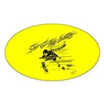 Son of the Wind (Yellow) Oval Sticker (10 pk)