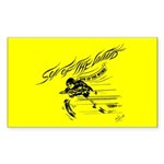 Son of the Wind (Yellow) Rectangle Sticker