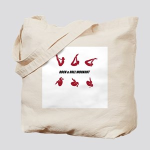 Rock and Roll Workout Tote Bag