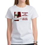 What Happens at the Cookie Party Women's T-Shirt