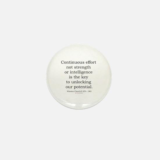 Winston Churchill 23 Mini Button