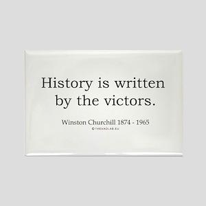 Winston Churchill 25 Rectangle Magnet