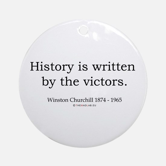 Winston Churchill 25 Ornament (Round)