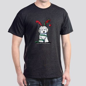 Christmas Havanese Dark T-Shirt