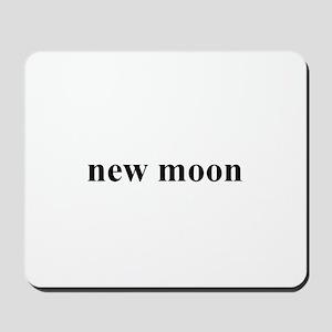 new moon Mousepad