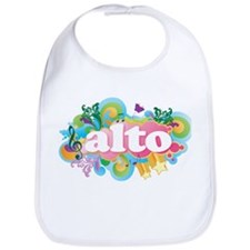 Retro Alto Music Bib